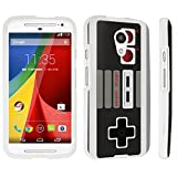 Cheap DuroCase ® Motorola Moto G 2nd Gen. 2014 Hard Case White – (Game Controller)