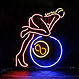 Urby™ 17''x14'' Open Sexy Lady Custom Handmade Glass Tube Neon Light Sign 3-Year Warranty-Unique Artwork! UA22