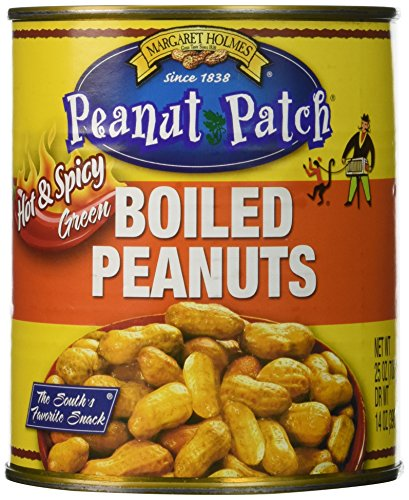 Margaret Holmes Peanut Patch Hot & Spicy Green Boiled Peanuts (A Cajun In Boiled Can Peanuts)