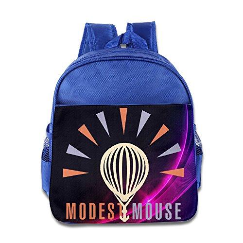 HYRONE Modest Logo Mouse Kids Children School Bagpack Bag For 1-6 Years Old RoyalBlue