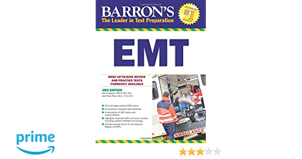 Barrons emt 3rd edition barrons how to prepare for the emt basic barrons emt 3rd edition barrons how to prepare for the emt basic exam 9781438003801 medicine health science books amazon fandeluxe Images