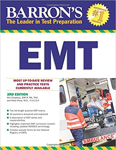 Barrons emt 3rd edition barrons how to prepare for the emt basic barrons emt 3rd edition barrons how to prepare for the emt basic exam 3rd edition fandeluxe Images