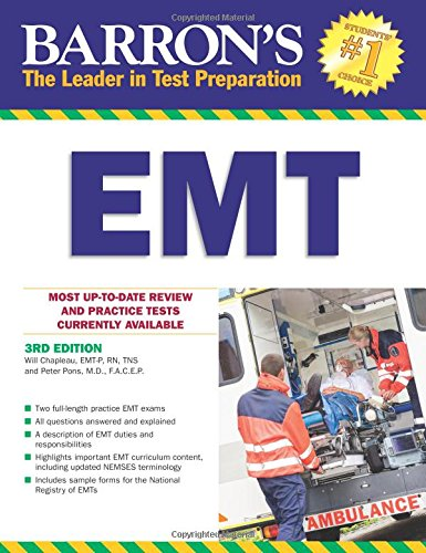 Barron's EMT, 3rd Edition (Barron's How to Prepare for the Emt Basic (License 1st Edition)