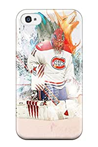 New Shockproof Protection Case Cover For Iphone 4/4s/ Montreal Canadiens (23) Case Cover
