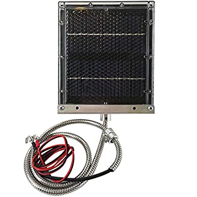 Highwild 12-Volt Solar Panel Charger for 12V Feeder Battery