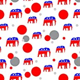 Republican Elephant GOP Conservative America Political Party Premium Gift Wrap Wrapping Paper Roll