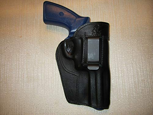 BRAIDS HOLSTERS Ruger GP100,357 Magnum, iwb, owb, ambidextrous Leather Revolver Holster