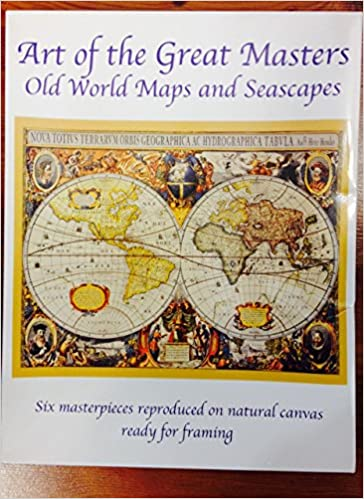 Art of the great masters old world maps and seascapes graphic arts art of the great masters old world maps and seascapes graphic arts international 9788890196300 amazon books gumiabroncs Gallery