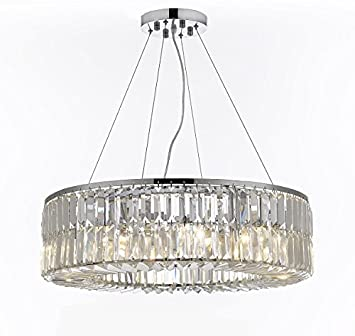 Amazon.com: Pecaso Lighting 8803-24-S Intorno - Lámpara de ...