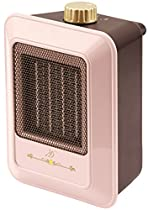 ZEPEAL Antique Style Compact Ceramic Heater (600W) DA-60P-PK (Pink)ใ€Japan Domestic genuine productsใ€'