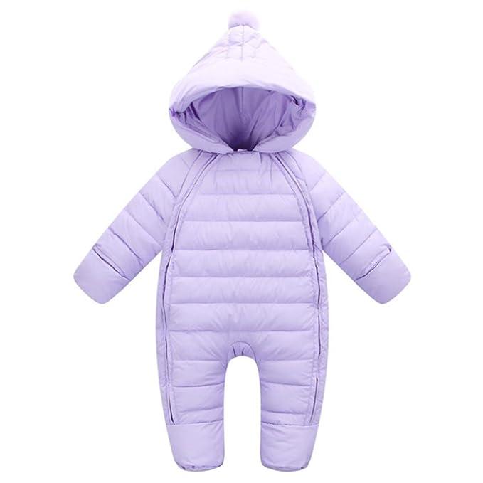 G-Kids - Pelele - Abajo - para bebé niño Morado 0-3 Meses