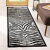 Cheap Safavieh Lyndhurst Collection LNH226A White and Black Runner (2'3″ x 6′)