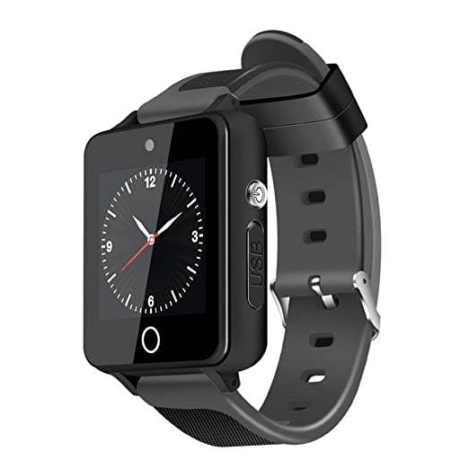 S9 de Dos Colores watchstrap Sqaure Android Reloj Inteligente de 1,54 Pulgadas de Alta definición de Pantalla táctil Bluetooth 4.0 Reloj de Pulsera: ...