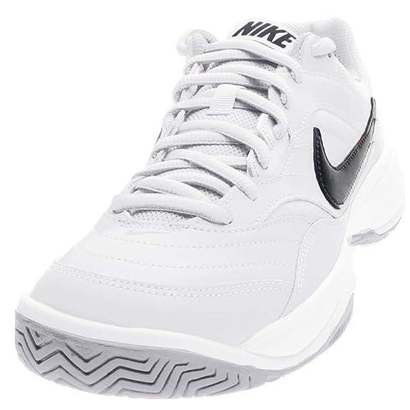 NIKE Men's Court Lite Tennis Shoe, White/Medium Grey/Black, 11.5 D(M) US