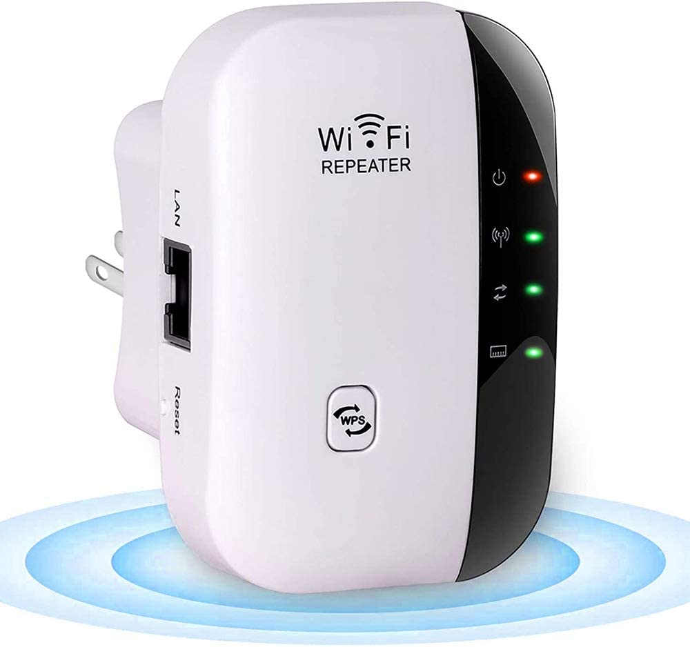 Fanice Wlan Repeater Wireless Network Signal Amplifier Computers Accessories