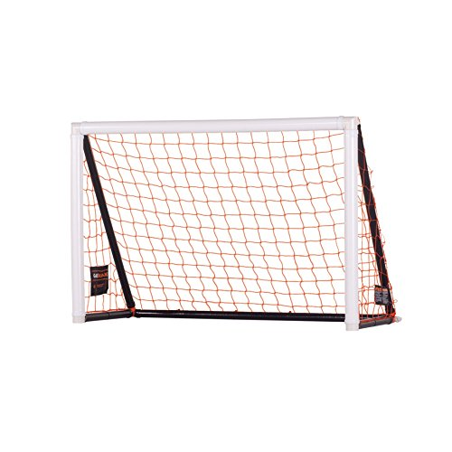 6' Inflatable Football (Goalrilla Portable 4' x 6' Gamemaker Soccer Goal Sets Up on Any Surface in 90 Seconds Great for Indoor or Backyard Play)