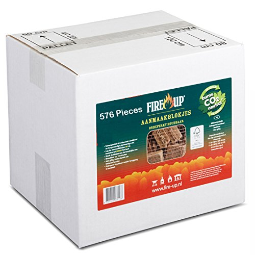 Firelighters Qty 576 For Wood Burning Stove Fire Natural & Sustainable 100% Carbon Neutral Emissions - Modern Stoves Fire Up