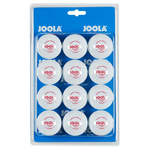 Joola 1 star 40mm training table tennis balls 12 pack for 1 star table tennis balls