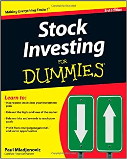 Stock Investing For Dummies: Paul Mladjenovic: 9780470401149: Amazon