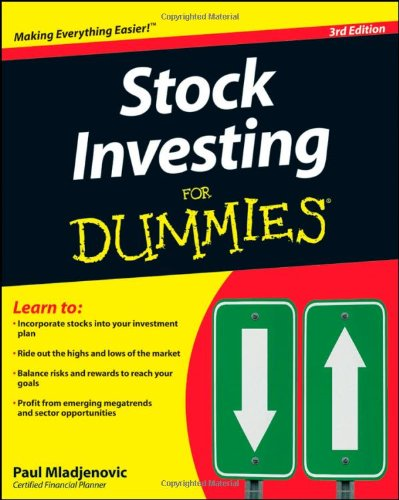 Buy stock investing for dummies book online at low prices in buy stock investing for dummies book online at low prices in india stock investing for dummies reviews ratings amazon ccuart Image collections