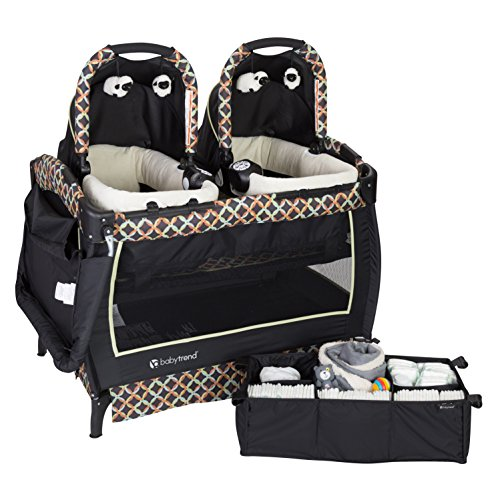 - Baby Trend Twin Nursery Center, Circle Tech