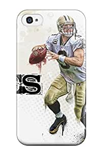Series Skin Case Cover For Iphone 4/4s(drew Brees)