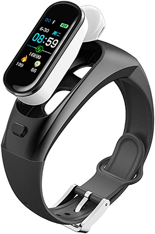 Fitness Smart Watch Hombres Mujeres Auriculares Inalámbricos ...