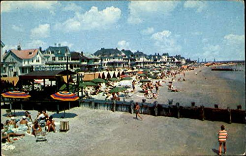 Cape May Cottage - Beach And Boardwalk And Ocean Front Cottages Cape May, New Jersey Original Vintage Postcard