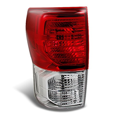 ckup Truck Red Clear Tail Light Rear Brake Lamp Replacement Driver Left Side ()