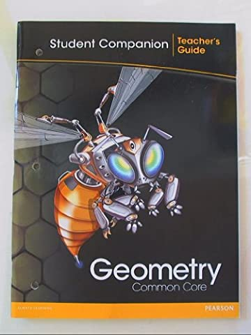 Geometry, Common Core: Student Companion-Teacher's Guide ISBN 0133185958 9780133185959 - Geometry Common Core