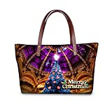 FOR U Designs Velvet Handbags Top-handle for Lady/women/young Girl (pattern1)