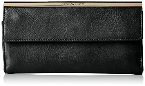 Vince Camuto Axl Wallet, Black, One Size
