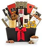GiftTree Sincerest Greetings Gourmet Food Gift Basket | Premium Chocolate, Cookies, Mixed Nuts & More | Perfect Holiday, Christmas, Anniversary, Birthday and Thank You Gift