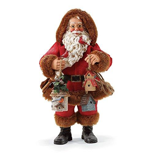 "Department 56 Possible Dreams Santa Claus ""Season's Tweetings"" Clothtique Christmas - Dept 56 Santa"