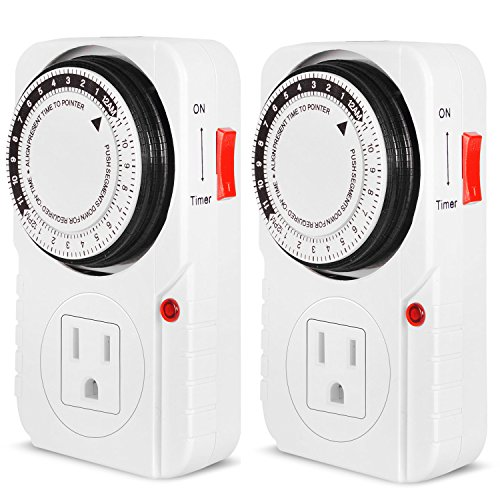 iPower 2 PACK Mechanical Electric Interval
