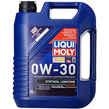 Liqui Moly (1151) 0W-30 Longtime Plus Synthetic Engine Oil - 5 Liter