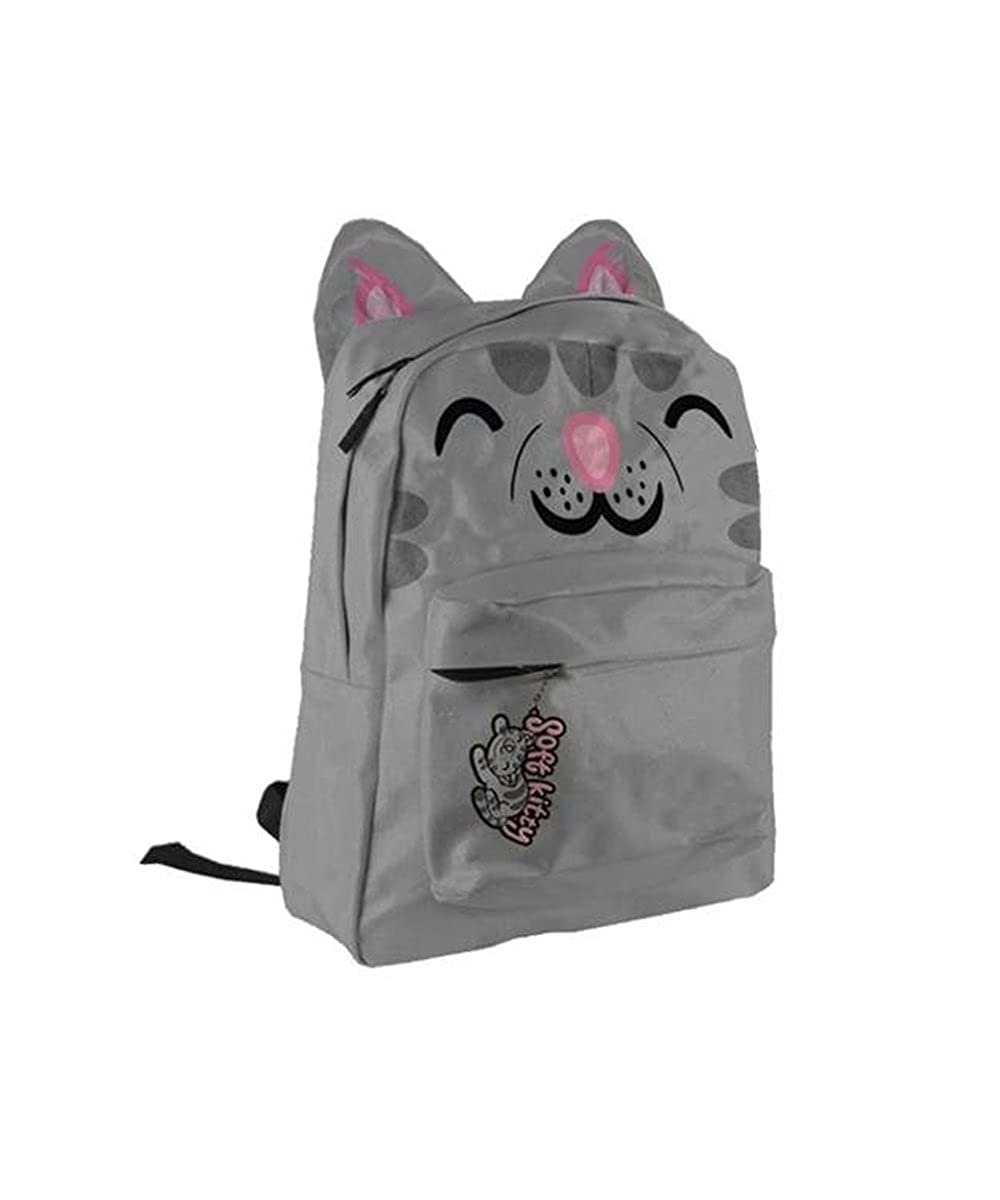 Amazon.com: The Big Bang Theory Soft Kitty Gray Mochila con ...