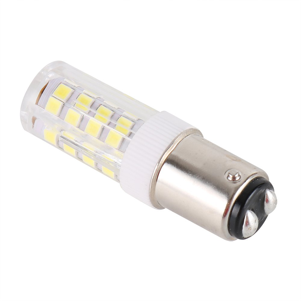 ba15d LED電球、ba15dダブルバヨネット120 V 4 W 5000 K、t3、t4 s6 s8 Sewing Machine LED電球、交換用25 W 40 Wハロゲンランプ B0777BF5RY