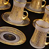 Product review for Arabic Calligraphy Thin Waist Tea Set Completely Hand Made ---Special Design---