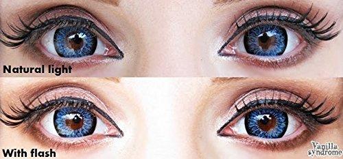 I Fairy Ash Blue Eyes Lashes Big Color Eyes Halloween Costume