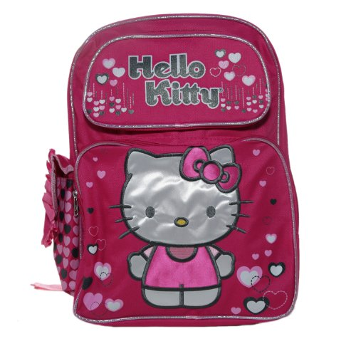Hello Kitty Lonely Hearts Backpack Bag ()