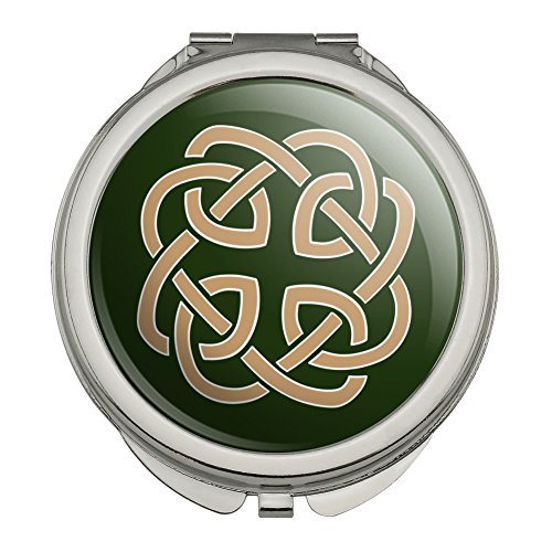 Celtic Knot Love Eternity Compact Travel Purse Handbag Makeup Mirror