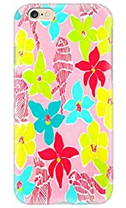 Beauty Design Lily Pulitzer Parrots Painting Back Case Cover for iPhone 6 4.7""