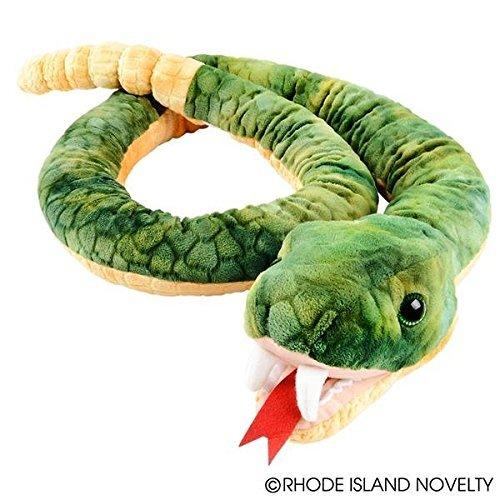 Plush Snake - Adventure Planet Green Rattlesnake Plush Toy