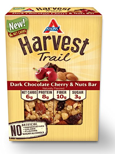Atkins Harvest Trail Bar, Dark Chocolate Cherry an…