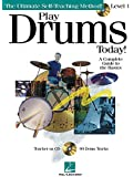 Play Drums Today - Level 1: A Complete Guide to the Basics Softcover with CD (Play Today Instructional Series)