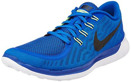 Nike Free 5.0, Herren Laufschuhe, Blau (Game Royal/Black/N Turqoise/Light Retro), 43 EU