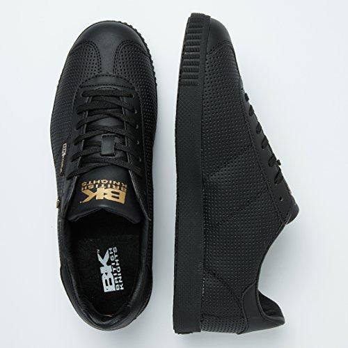 British Knights Point Herren Halbschuh Sneaker Schwarz/Schwarz