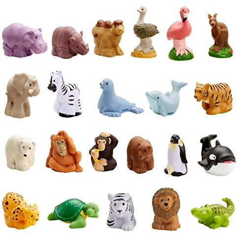 Fisher-Price Little People Zoo Animal Friends Set of 22