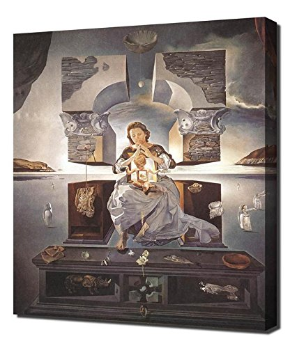 Salvador Dali The Madonna Of Port Lligat Ii Framed Canvas Art Print Reproduction